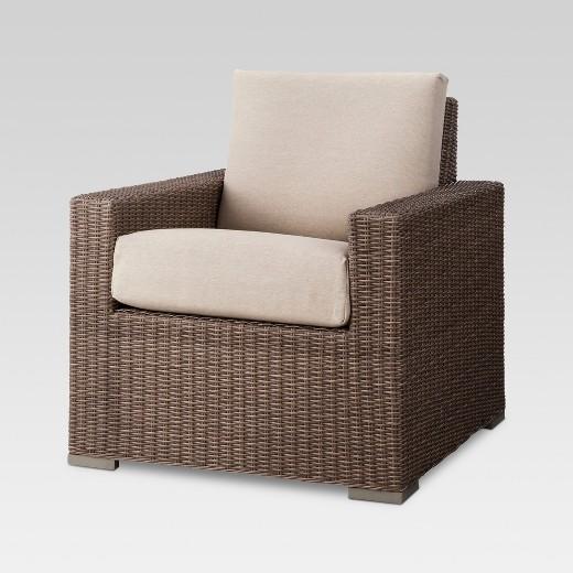 Heatherstone 4-Piece Wicker Patio Conversation Furniture Set ...