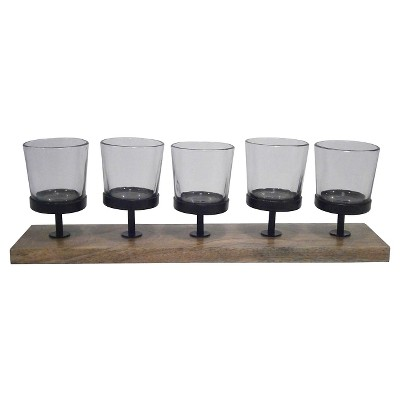 Threshold™ 5 Votive Holder - Clear/Natural