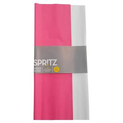 Pink/White Tissue Paper - Spritz™