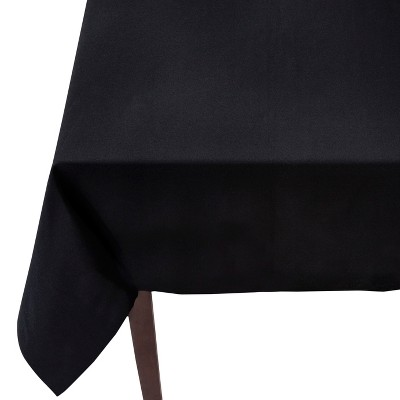 Threshold™ Solid Rectangle Tablecloth - Black (60x104 )
