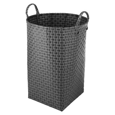 Woven Laundry Hamper – Gray - Room Essentials™