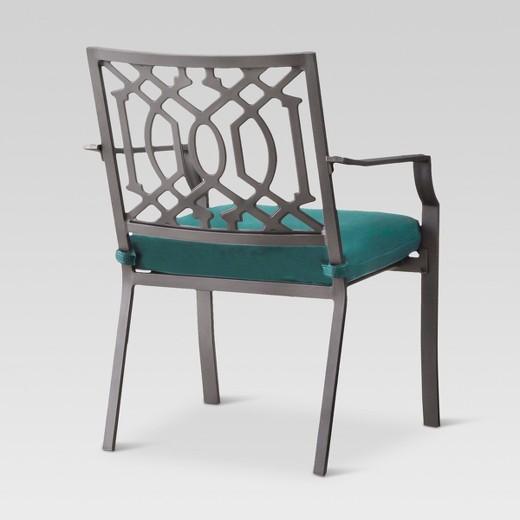 Harper 2 Piece Metal Patio Dining Chair Set Threshold Target