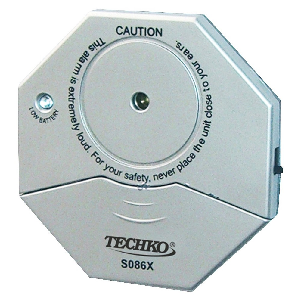 Techko Maid S086X Slim Vibration Window Alarm