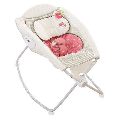 Fisher-Price My Little Snugabug Deluxe Newborn Rock 'n Play Sleeper