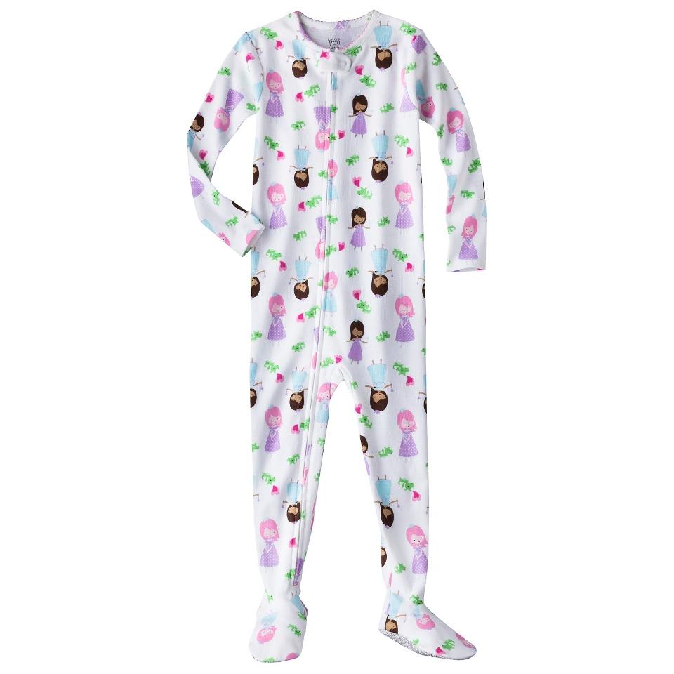 Just One You Made by Carters Infant Toddler Girls Long Sleeve Princess Footed