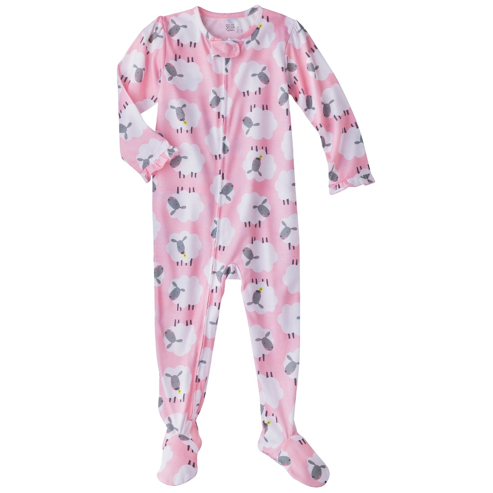 Just One You Made by Carters Infant Toddler Girls Long Sleeve Sheep Footed