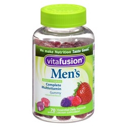 Vitafusion™ Men´s Natural Multivitamin Dietary Supplement Gummies - Fruit