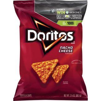 Doritos Nacho Cheese Tortilla Chips - 3.38oz