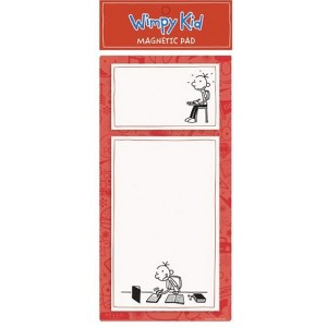 Diary of a Wimpy Kid Red Magnetic Pad (Stationery) (Jeff Kinney)