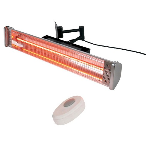 Wall Mounted Electric Patio Heater With Remote
