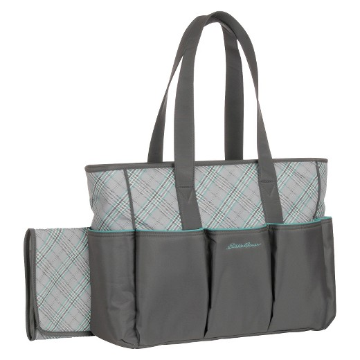 eddie bauer meadowbrook diaper bag gray target. Black Bedroom Furniture Sets. Home Design Ideas
