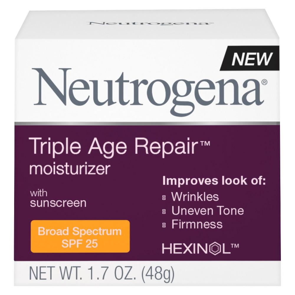 Facial Moisturizer: Neutrogena Triple Age Repair Moisturizer
