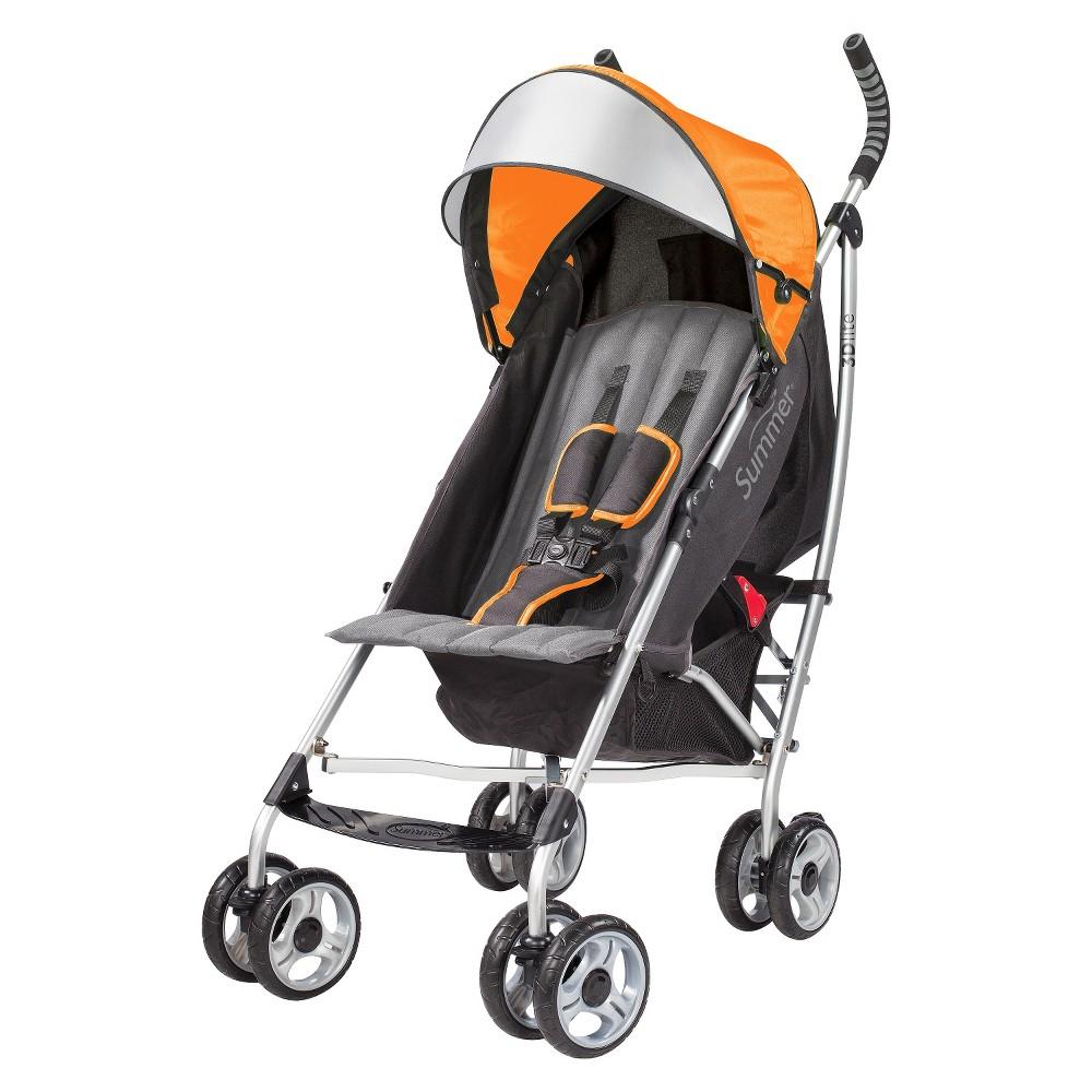 Summer Infant Products 3D lite Convenience Stroller - Orange