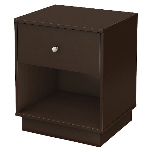 South Shore Litchi Kids' Nightstand - Chocolate - image 1 of 3