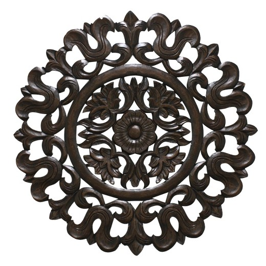 Carved Wood Wall Panel - Carved Wood Wall Panel : Target