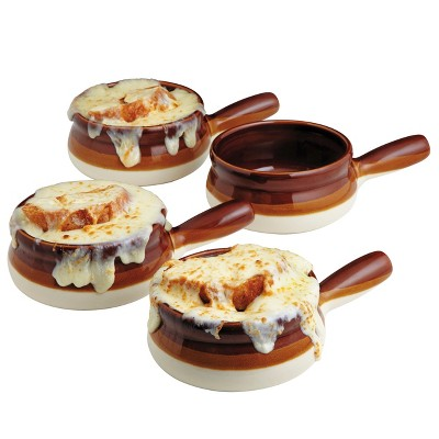 CHEFS French Onion Soup Bowls, Set of 4