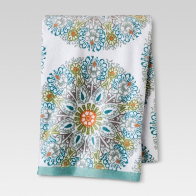 Medallion Towel - Blue - Threshold™