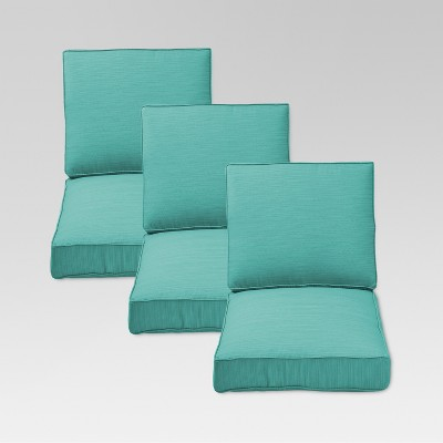 Belvedere 6 Piece Outdoor Replacement Patio Sofa Cushion Set   Threshold™