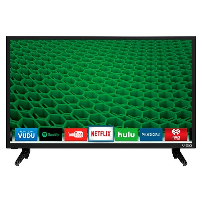 VIZIO 32  Class 720p Full Array LED Smart TV - Black (D32h-D1)