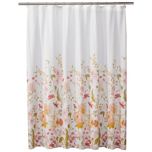 Pink Shower Curtains Target Curtain Menzilperde Net