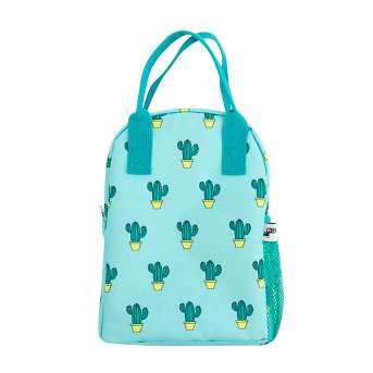 Yoobi™ Cactus Lunch Bag - Blue