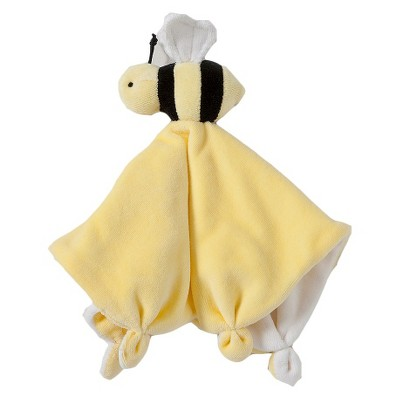 Burt's Bees Baby® Organic Cotton Bee Velour Lovey Security Blanket