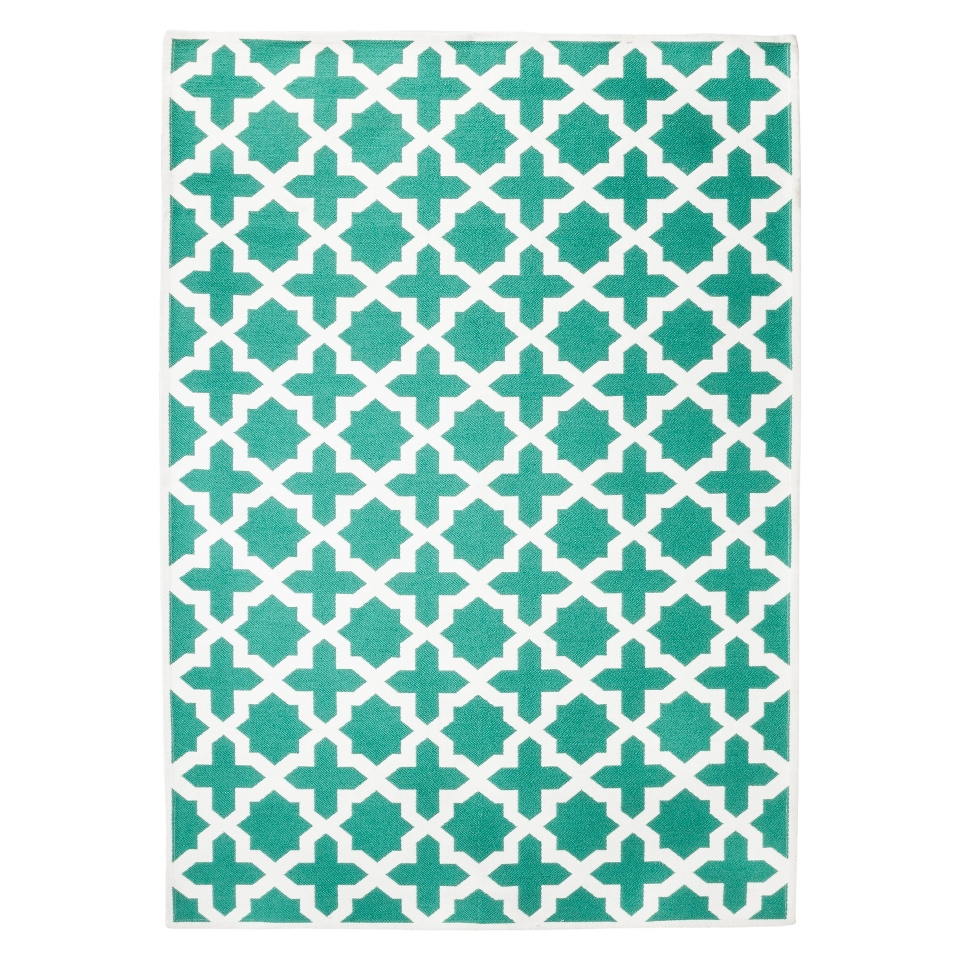 Threshold Indoor/Outdoor Area Rug   Turquoise (5x7)
