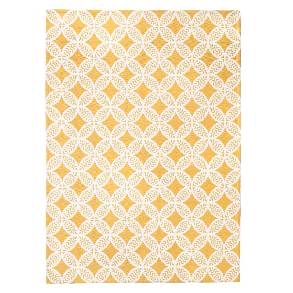 Threshold Indoor/Outdoor Area Rug   Yellow (7x10)
