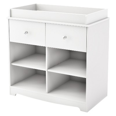 South Shore Little Jewel Changing Table   Pure White