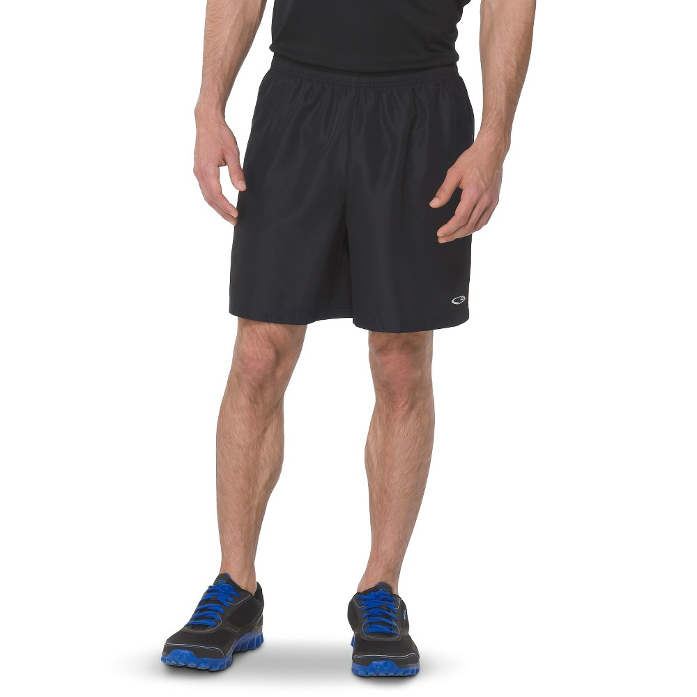 Mens 7 Running Shorts - C9 Champion Black/Railroad Gray L