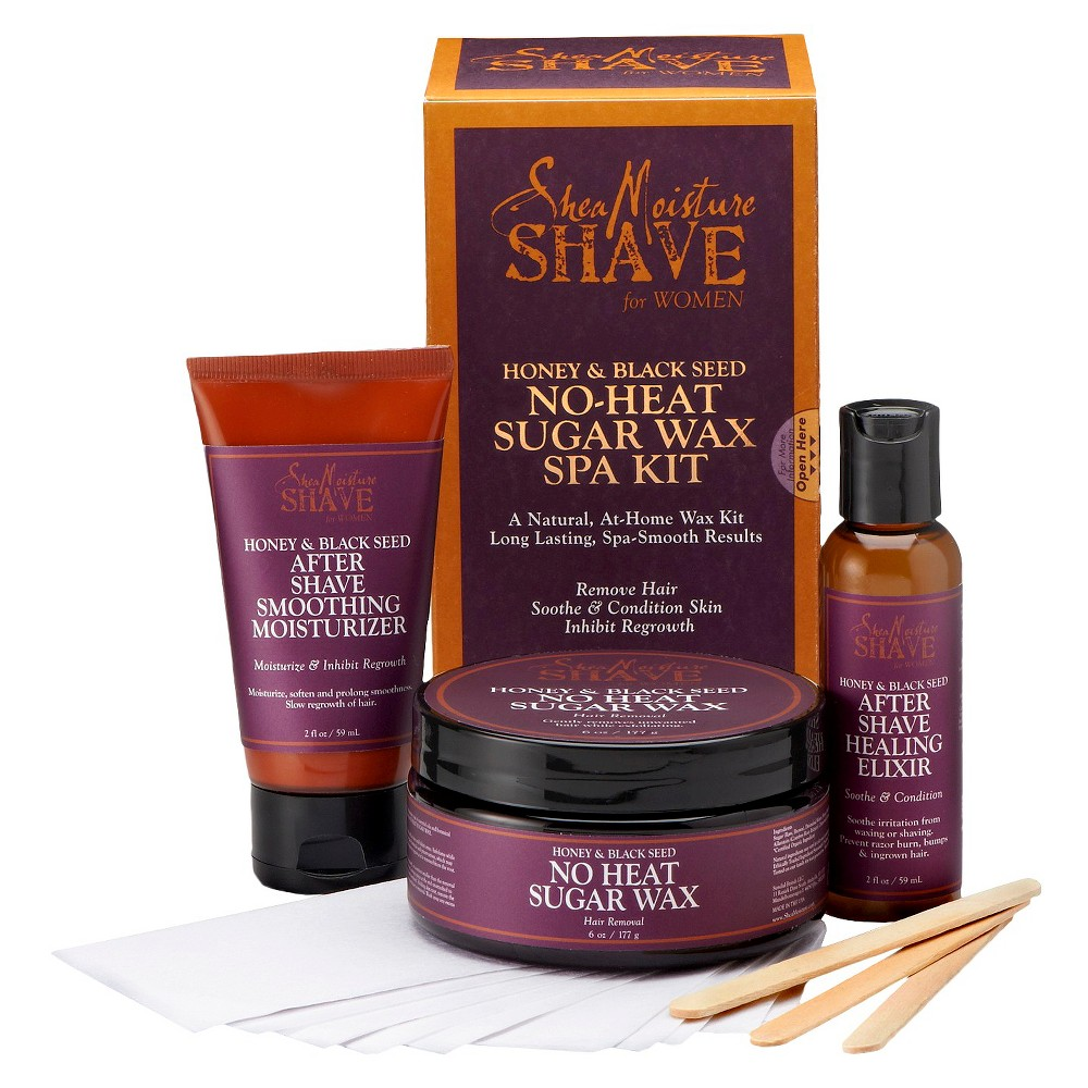 SheaMoisture Shave Honey & Blackseed Wax Kit for Women