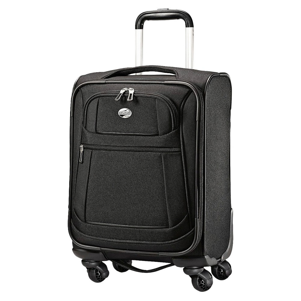 American Tourister 16 DeLite 2.0 Carry On Spinner Luggage - Black