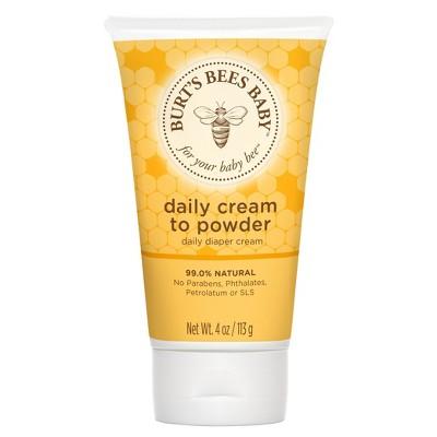 Burt's Bees Baby Bee Cream To Powder - 4 oz