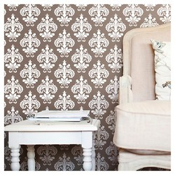 Devine Color Chantilly Peel & Stick Wallpaper - Buck