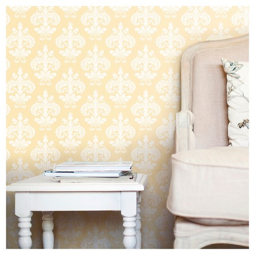 devine color chantilly peel & stick wallpaper - firefly : target