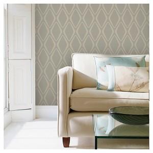 Devine Color Diamond Peel & Stick Wallpaper - Twig