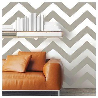 Devine Color Zig Zag Peel & Stick Wallpaper - Mirage