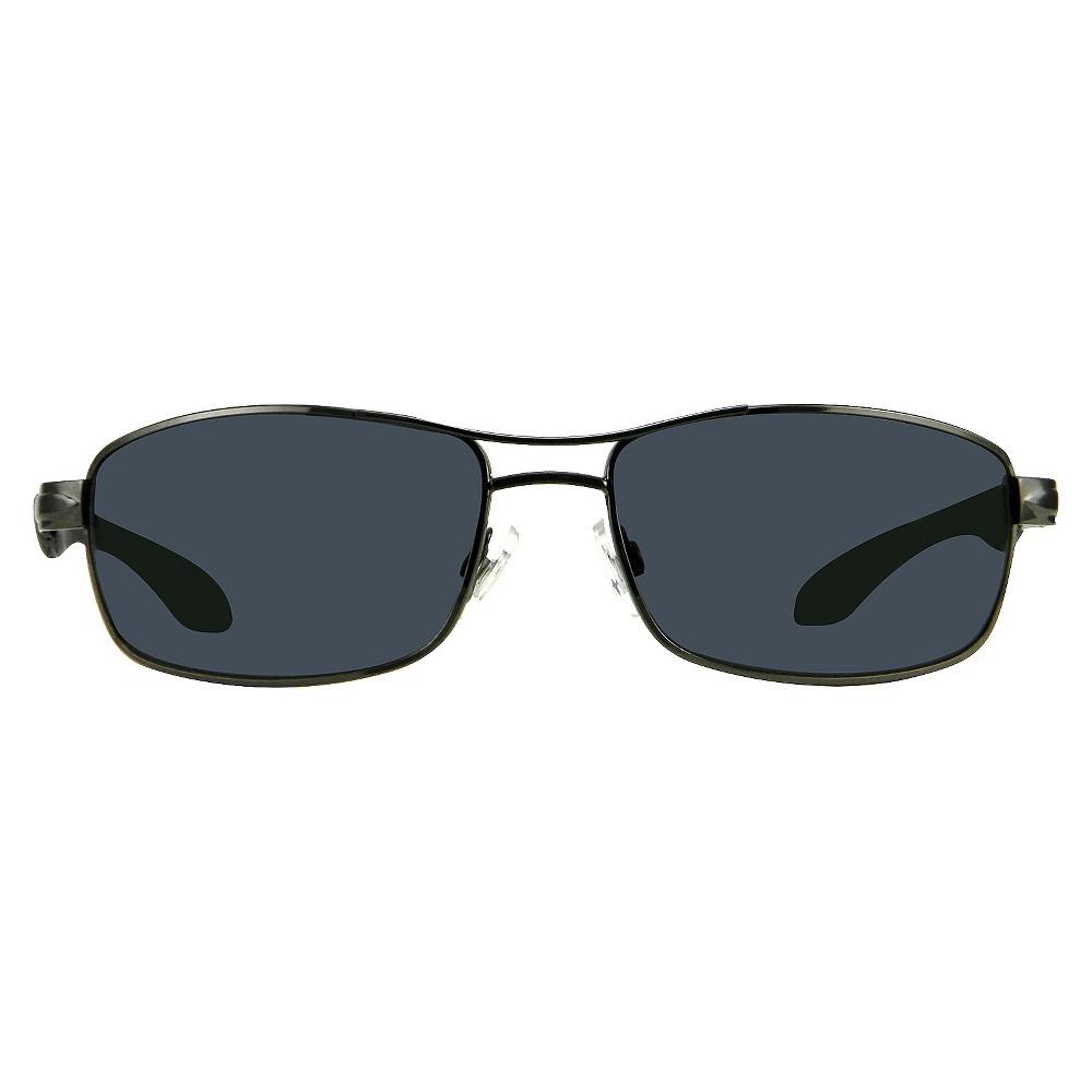 Pilot Sunglasses Metal Sport - Gunmetal, Adult Unisex, Size: Medium, Gray