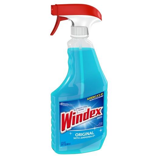 Windex original glass cleaner spray 23 fl oz target for Window cleaner