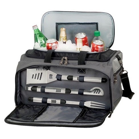 Picnic Time Buccaneer Gas Grill/ Cooler/ 3 Pc Tools - image 1 of 6