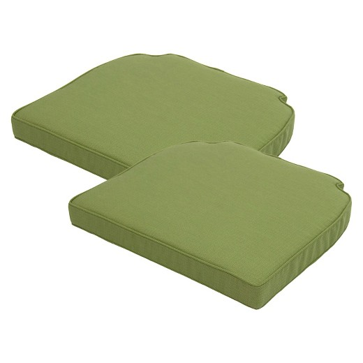 Brooks Island 2Piece Outdoor Replacement Side Chair Cushion Set – 2 Piece Outdoor Chair Cushions