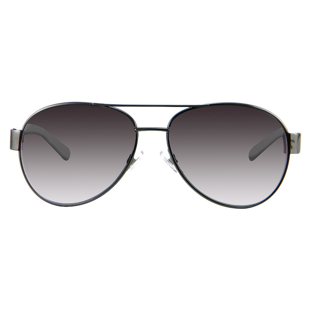 Womens Aviator Sunglasses - Gunmetal, Black