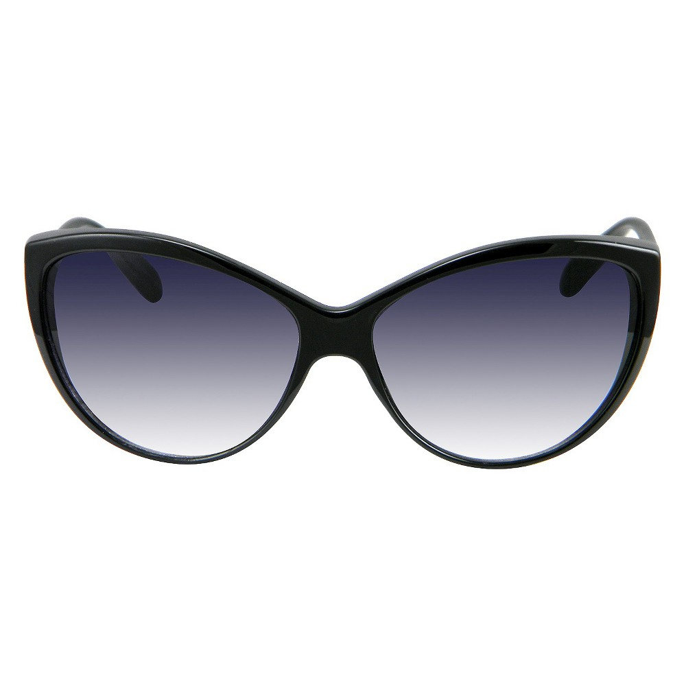 Womens Cat Eye Sunglasses - Black