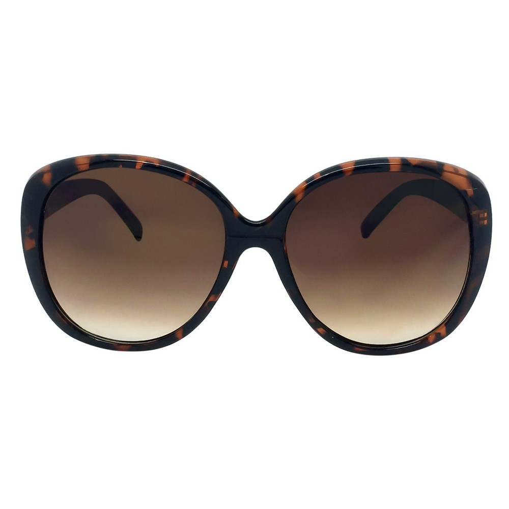 Womens Oversized Sunglasses - Tortoise, Brown