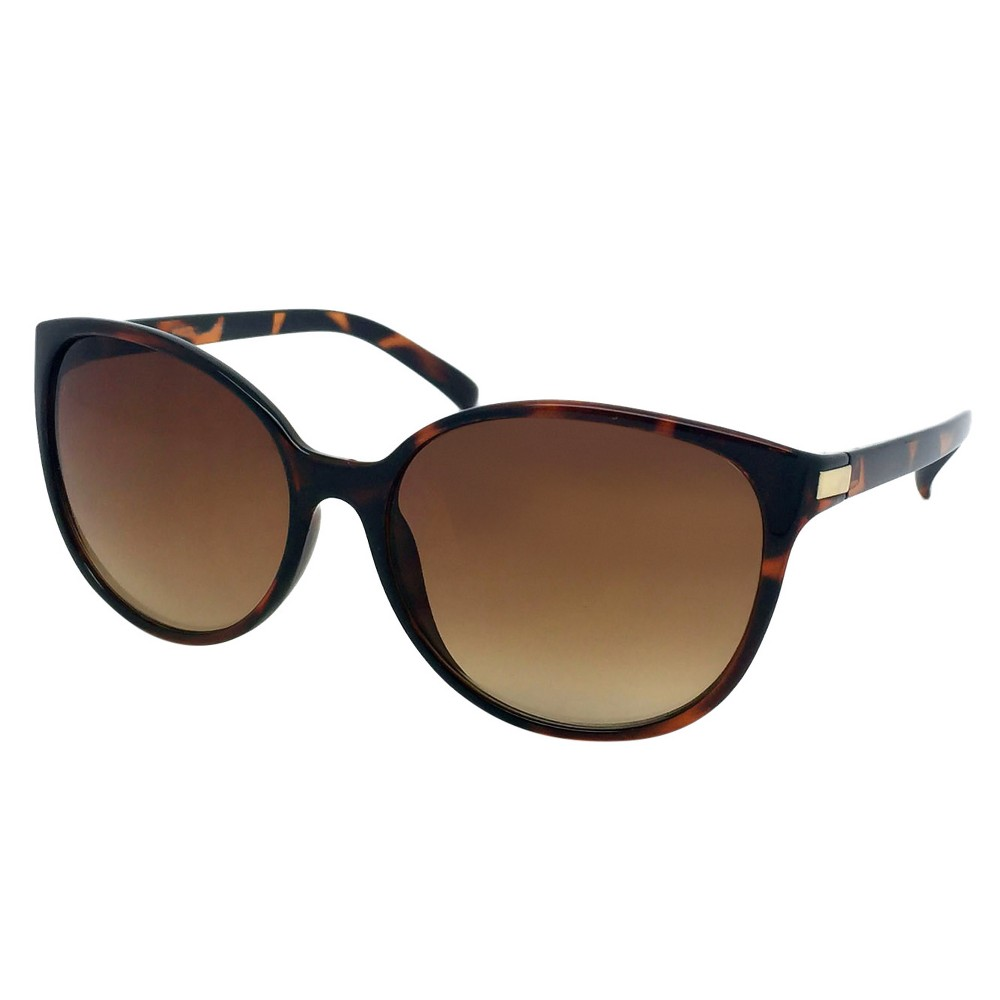 Womens Cat Eye Sunglasses - Tortoise, Brown