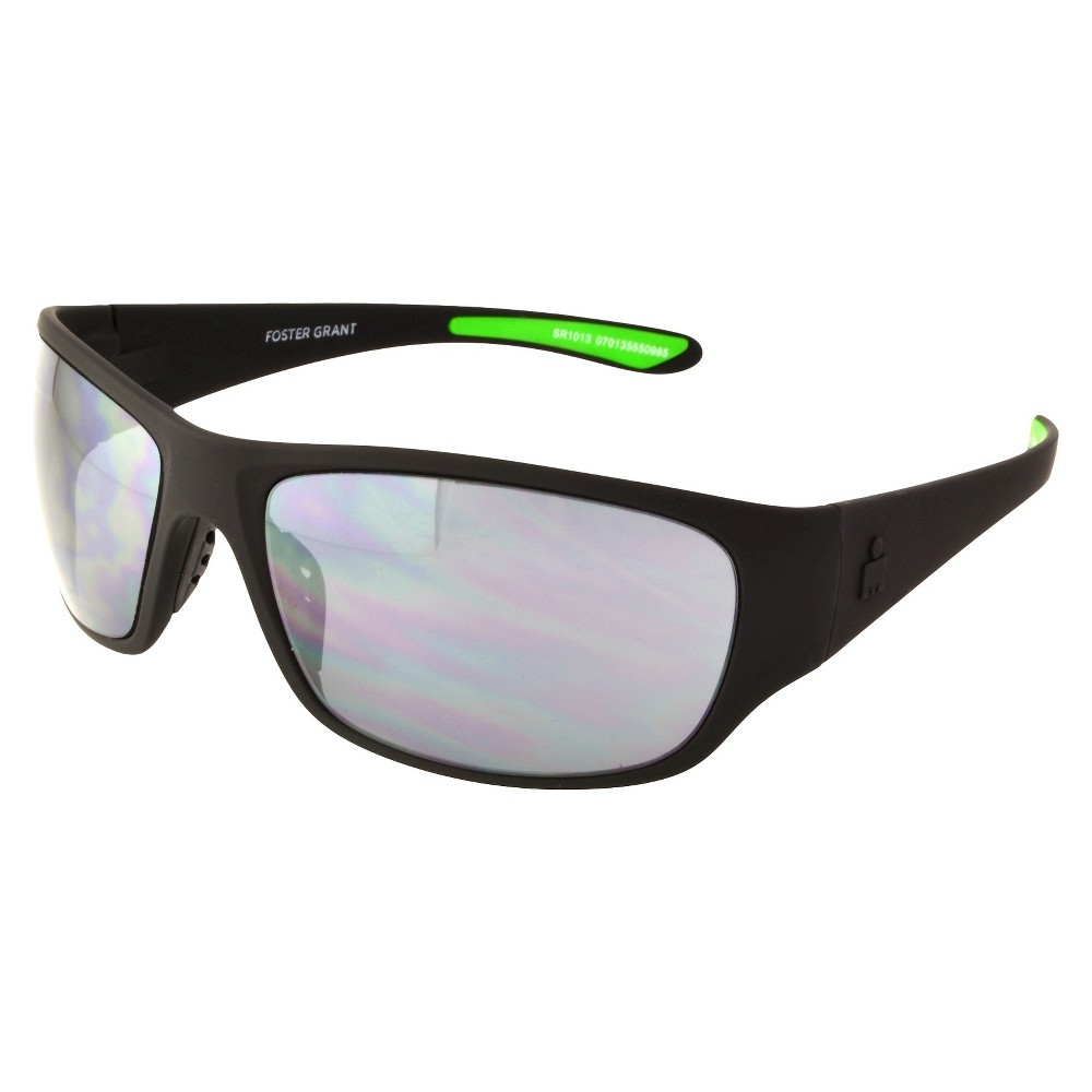 Mens Rectangle Sunglasses - Black