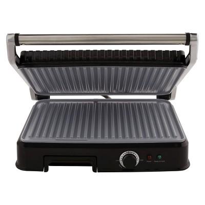 Oster® Extra Large Titanium Infused DuraCeramic™ Panini Maker & Grill - CKSTPM6001-TECO