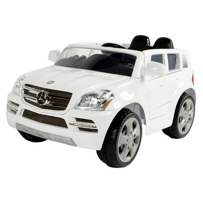 Rollplay 6V Mercedes Benz GL450 SUV Powered Ride-On - White