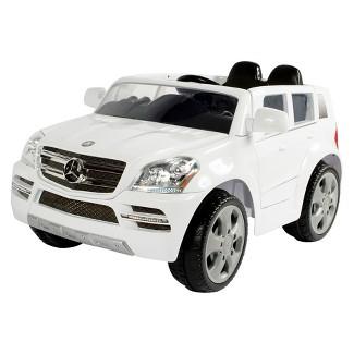Rollplay Kids' Ride On 6V Mercedes-Benz GL450 SUV - White