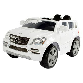 Rollplay 6V Mercedes-Benz GL450 SUV Powered Ride-On - White